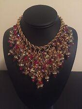 Rare Haute Couture Assunta Giovanna Rhinestone Necklace