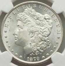 1879-S Rev of 79 $1 Morgan Silver Dollar NGC SHINE ON CRAZY MORGAN NEAR GEM MS64