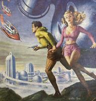 Startling Stories November 1952 Vintage Pulp Magazine The Star Dice Roger Dee