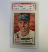 1952 Topps Randy Gumpert #247 PSA 6 EXMT