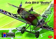 """Kovozavody prostejov 1/72 Avia BH-9 """"Military"""" # 7277"""