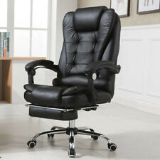 Bigamptall Office Chair Executive Pu Leather Computer Desk Chair Swivel High Back
