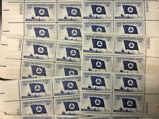 {Bj Stamps}1088 Coast & Geodetic Soc. 25 Plate blocks mint 3 cents. Issued 1957