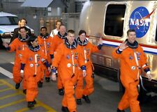 Space Shuttle Columbia Final Crew PHOTO Heading to Launch Pad, Tragic Mission
