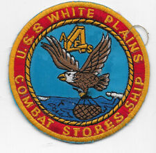 Theatre Made USN USS White Plains Ships Patch