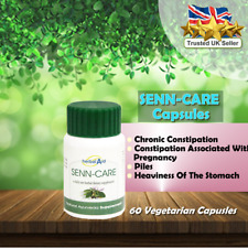 Herbal Aid Senna Leaves 500mg Extract 60 Vegetarian Capsules Herbal Supplement