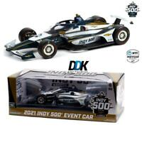 GREENLIGHT 11111 2021 Indianapolis 500 Event Diecast Indy Model Car 1:18