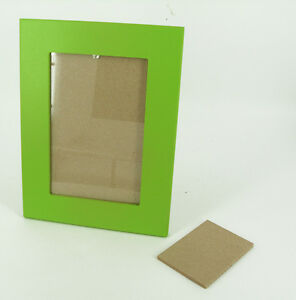 il pianeta delle idee - Cornice Legno Portafoto Verde 23,5x18,5 cm Made Italy
