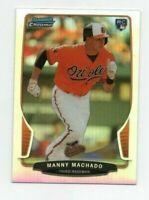Manny Machado 2013 Bowman Chrome RC Rookie Refractor Card # 4 San Diego Padres