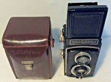Rolleicord Ia Model 3 - K3 TLR 120 Film Camera, Tritar f/4.5 75mm Lens sn 618005