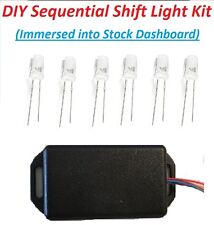 DXR SSL-06K DIY Sequential Shift Light Kit (Immersed into Stock Dashboard)