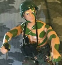 "G.I. Joe 12"" Action Figure DUKE Hauser, Conrad S Master Sergeant Clothes & Acces"