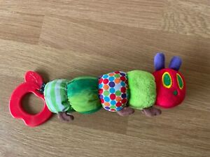 The Very Hungry Caterpillar Baby Teether Rattle Soft Toy