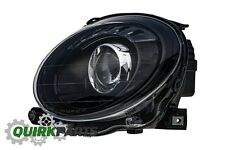 2012-2017 FIAT 500 BLACK FRONT LEFT DRIVER SIDE HEADLIGHT LAMP OEM NEW GENUINE
