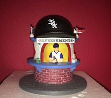 Dept 56 Cic- Chicago White Sox Refreshment Stand-Genuine Mlb Merchandise Euc