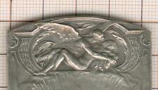 jolie plaque bronze cinquantenaire Sté Lyonnaise des eaux 1880-1930