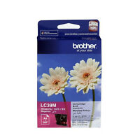 GENUINE Original Brother LC39M MAGENTA Ink Cartridge Toner