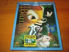 Bambi (Blu-ray/DVD, 2011, 2-Disc Set, Diamond Edition) BRAND NEW, SEALED!