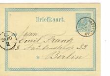 Dutch Postal Card, Stationery Stamps