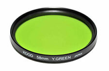 Kood Yellow/Green Japanese Made 58mm Filter