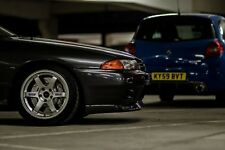 "17"" Volk Racing TE37 Rays Alloys Wheels R32 R33 Skyline GTR Evo Honda Rota 5x114"