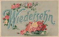 Antike Feldpost-Ansichtskarte Auf Wiedersehn 1917 K+K Österreich beschrieben