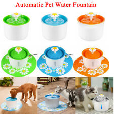1.6L Automatic Cat Water Fountain Pet Gog Drinking Bowl Water Dispenser Filter