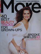 BROOKE SHIELDS May 2009 MORE Magazine