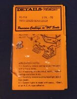 Twin Sealed Beam Early - 114 - HO Scale Diesel Part - Details West