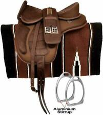 Synthetic Treeless FREEMAX English Horse Saddle Free multiple Gift Free Shipping