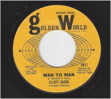 ELLIOT BARON  -  MAN TO MAN  / THE SPARE RIB    GOLDEN WORLD 11