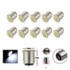 10x T25/S25 1157 BAY15D White 22 SMD LED Car Tail Turn Brake Light Bulb Lamp US