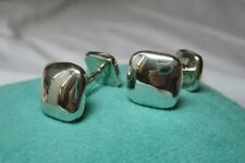 Tiffany & Co Cufflinks Sterling Silver Vintage Cuff Links Wedding Jewelry