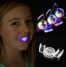 LED Light up Flashing Mouth Piece Glow Teeth For Halloween Party Rave Event