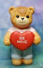 Enesco Lucy and Me Lucy Rigg Valentine bear with be mine heart