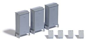 Busch 7792 Switch and telephone cabinets H0 scale