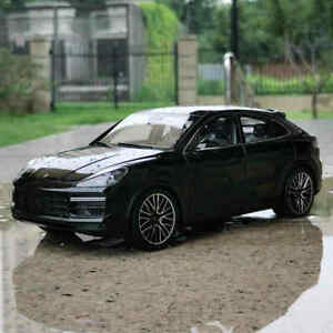 NOREV 1:18 Scale 2019 Porsche Cayenne Turbo Black Diecast Car Model Collection