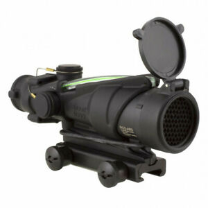 ACOG 4X32, ARMY RIFLE COMBAT OPTIC FOR THE M150 WITH GREEN ILLUMINATION AND TA51