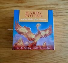 Brand New Harry Potter Order of the Phoenix Audio Book CD  Stephen Fry