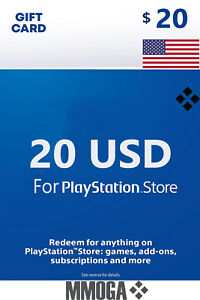 Für PlayStation Network $20 USD Key - 20 US Dollar USA For PS5 PS4 PS3 PSP - US