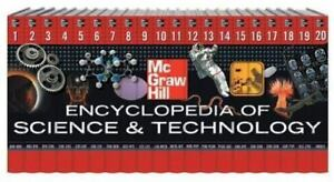 McGraw-Hill Encyclopedia of Science and Technology Hardcover McGraw-Hill
