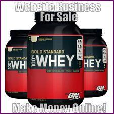 Protéine Supplément site gagner £ 19 A vente | libre Domaine | Free hébergement | libre trafic