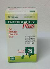 Enterolactis Plus Capsule 24 miliardi PRODOTTO ITALIANO NON DI IMPORTAZIONE s.gr