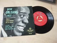 LOUIS ARMSTRONG - NEW ORLEANS JAZZ  - PART 1 - EP - FULLY TESTED - SUPERB