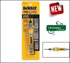 DEWALT #10 Drill Flip Drive Unit Bit Accessories Drilling Faster Tool Quality