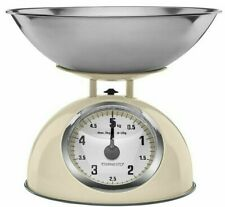 Mechanical Kitchen Scale to 5kg 5000g Libra Retro Retrowaage Color: Cream