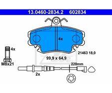 Ate 13.0460-2834.2 guarnición frase, freno de disco Renault Clio II Clio i 11