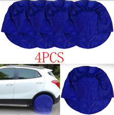 "Blue 4x Wheel Tire Covers For Offroad SUV Pickup Car Truck For 32""Diameter Tyre"