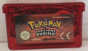 Pokemon Versione Rubino ITA Nintendo Game Boy Advance/SP