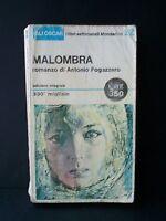 MALOMBRA - A.Fogazzaro [Mondadori, 1965]